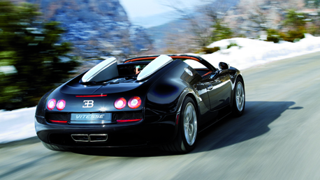 The new Bugatti Veyron Vitesse