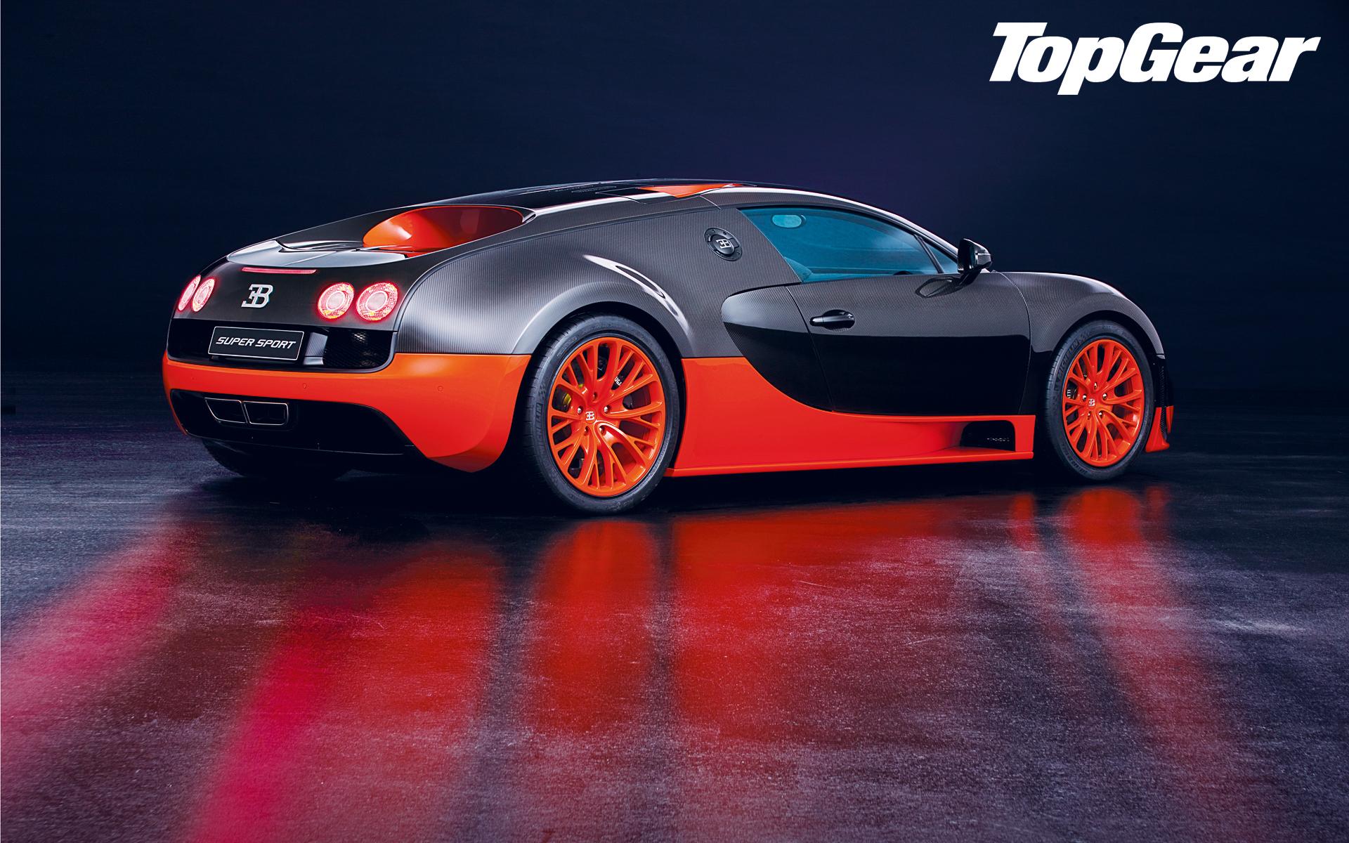 bugatti veyron supersport car news bbc top gear. Black Bedroom Furniture Sets. Home Design Ideas