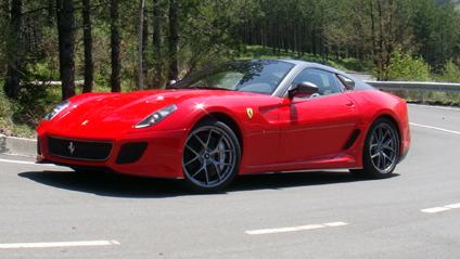 Ferrari 599 GTO Top Gear 6